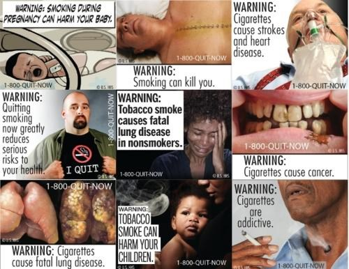 FDA,Graphic Warning Labels,smoking-is-bad-mkay,surgeon general