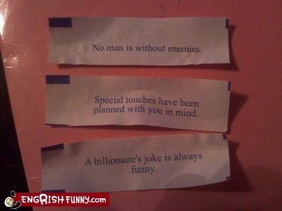 fortune cookie,happy ending,touches