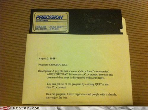 80s floppy disc program trollface - 4892330240