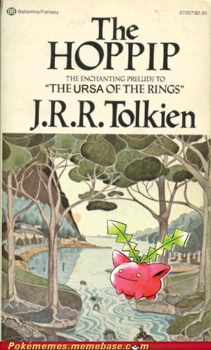 author Lord of the Rings novel pallet town Pokébooks tolkien