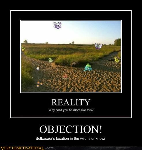 OBJECTION! Bulbasaur's location in the wild is unknown
