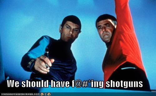 actor celeb funny james doohan Leonard Nimoy sci fi Star Trek - 4892776704