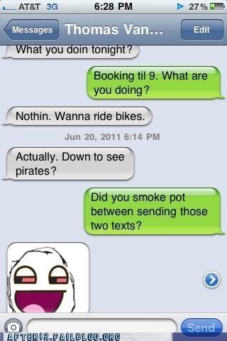 high Pirates of the Caribbean pot text - 4892803328