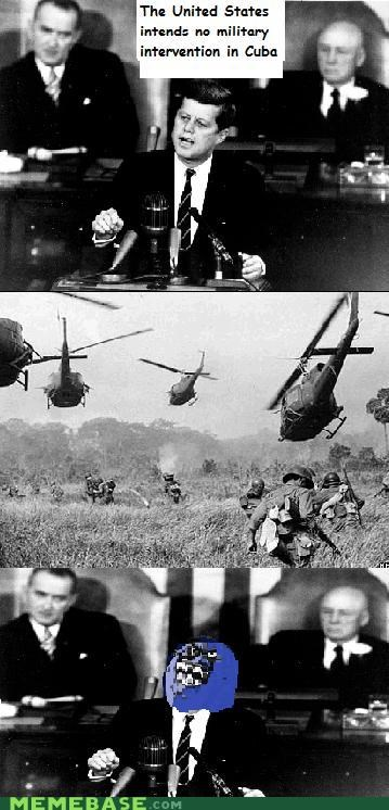 helicopters,i lied,jfk,president,Rage Comics,war