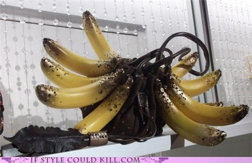 bags bananas cool accessories purses - 4893336064
