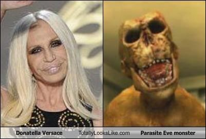 designers Donatalla Versace monster Parasite Eve