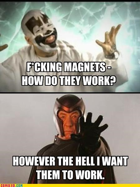 ICP Magneto magnets rap the internets xmen