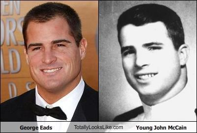actors classics George Eads john mccain politicians young - 4893869824