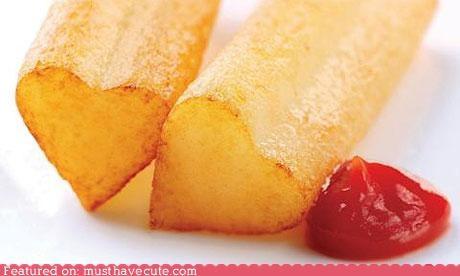 epicute fries hearts ketchup - 4894559488