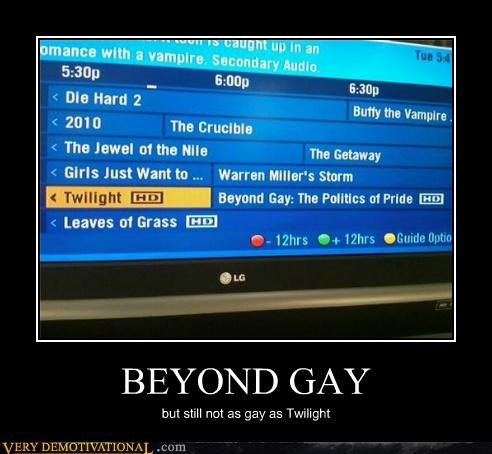 beyond gay,guide,hilarious,TV,twilight