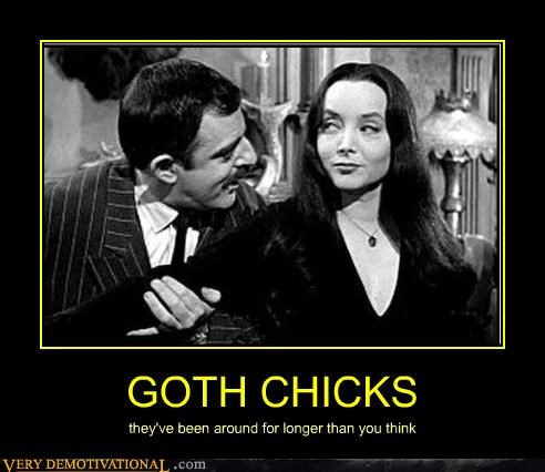 GOTH CHICKS they've been around for longer than you think