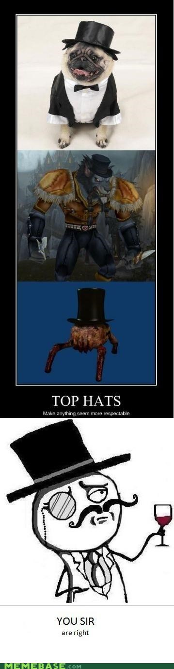 fancy hackers lulzsec Memes plz-dont-hurt-us respect security top hats - 4895364352