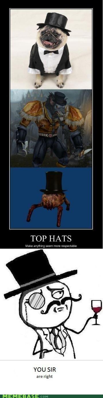 fancy hackers lulzsec Memes plz-dont-hurt-us respect security top hats - 4895364352