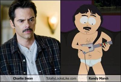 actors billy burke cartoons charlie swan randy marsh South Park twilight - 4895437312