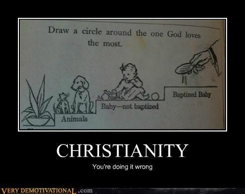 baptism christianity god hilarious love - 4895616256