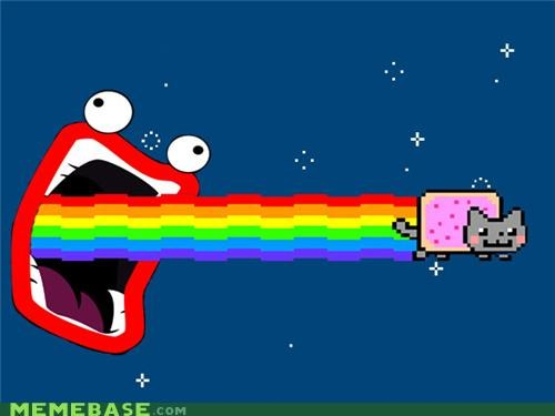 animemes firin lazer nyan Nyan Cat shoop - 4895768832