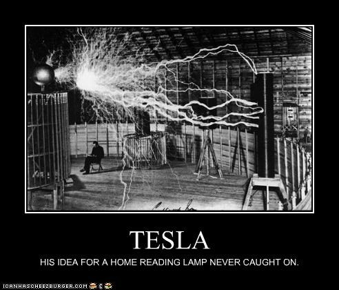 demotivational funny Photo technology tesla - 4895943936