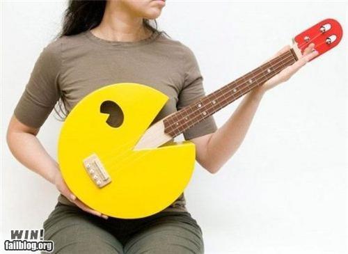 guitar Music nerdgasm pacman video game - 4896006656