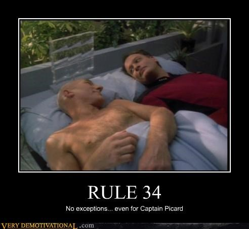 Captain Picard,hilarious,Q,Rule 34,Star Trek