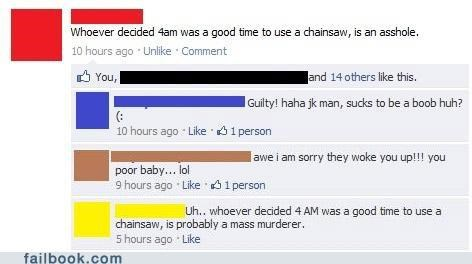 chainsaw,grammar,neighbors