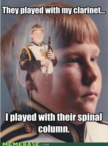 clarinet,column,Music,PTSD Clarinet Kid,spinal,tap