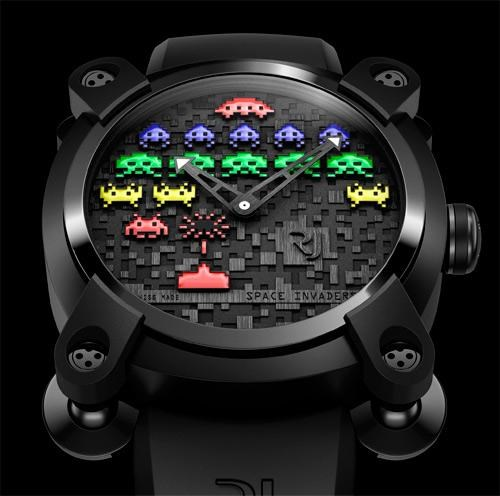 merch romain jerome space invaders video games watches - 4896727040