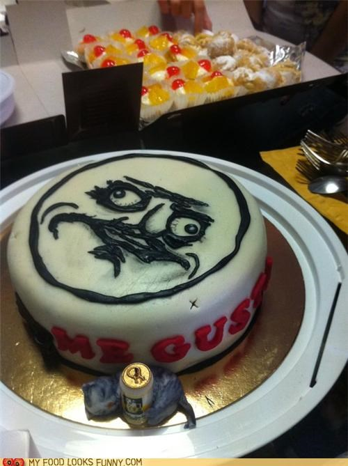 beer cake hand i like me gusta meme - 4896747264