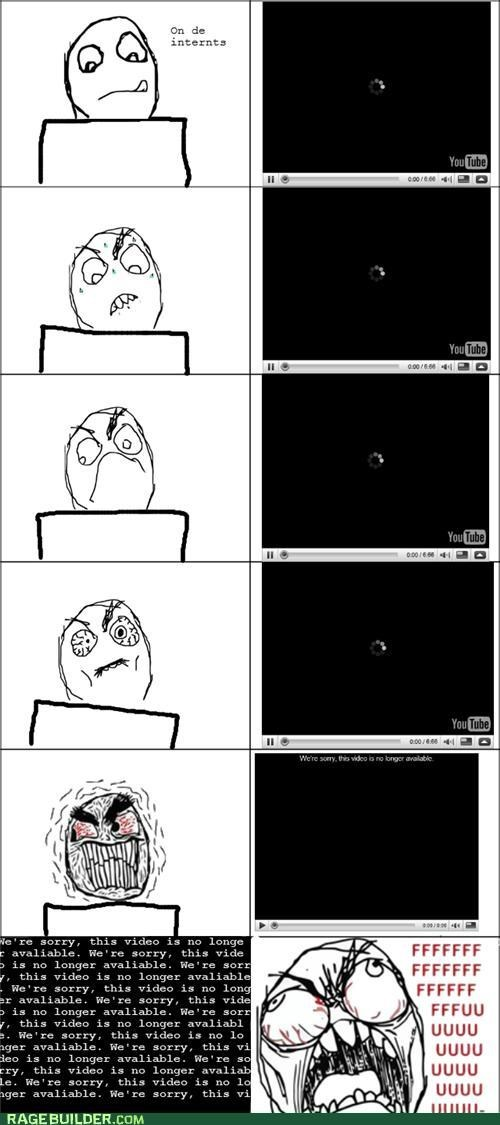 annoying buffer internet Rage Comics youtube
