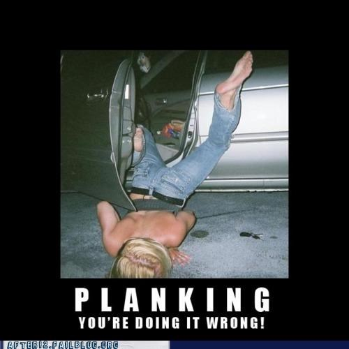 car demotivational falling Planking - 4897093120