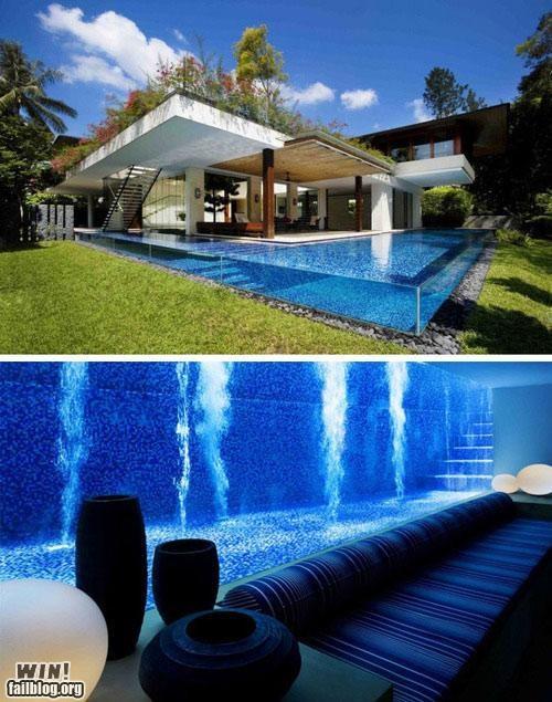 design homes pool summertime - 4897134080