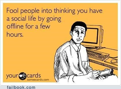 forever alone image social life technology - 4897227776