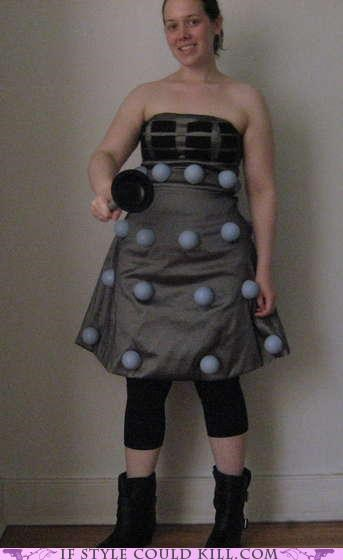 cool accessories dalek doctor who dress - 4897231360