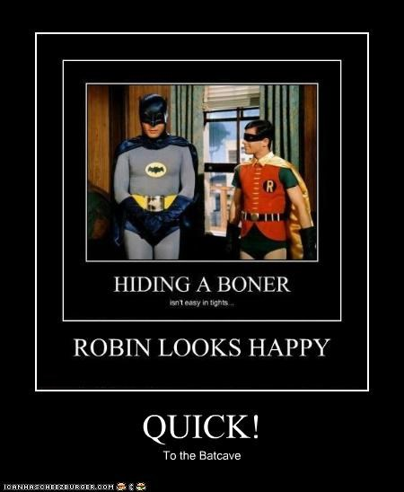 QUICK! To the Batcave
