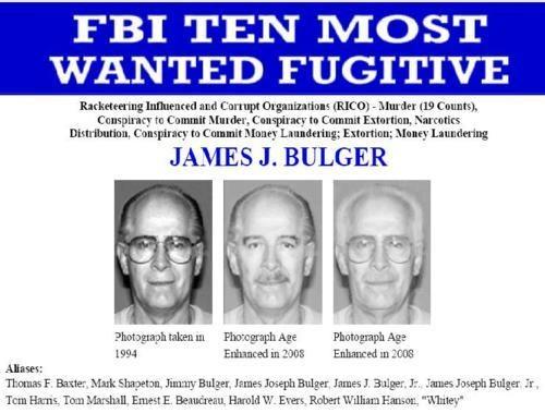boston Breaking News Irish Mob James Bulger Whitey Bulger Winter Hill Gang