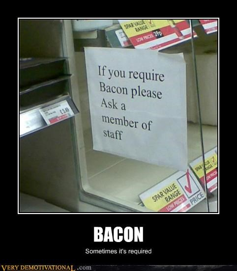 bacon hilarious required wtf
