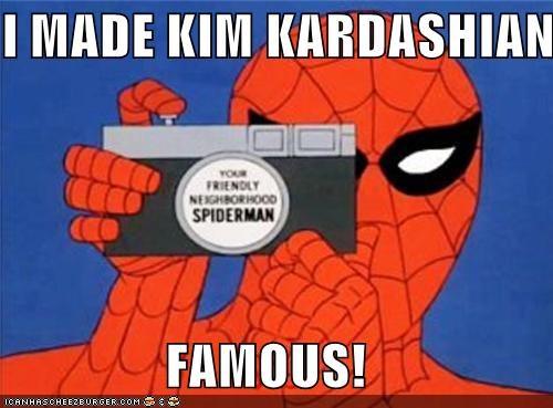 celeb famous kim kardashian Spider-Man Super-Lols - 4898334464