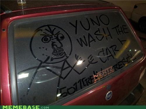 brasil car dirty IRL wash Y U No Guy - 4898696192