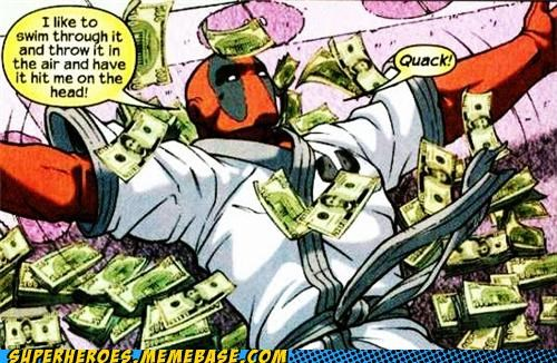 deadpool monies scrooge mcduck Straight off the Page
