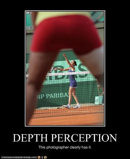 DEPTH PERCEPTION This photographer clearly has it.