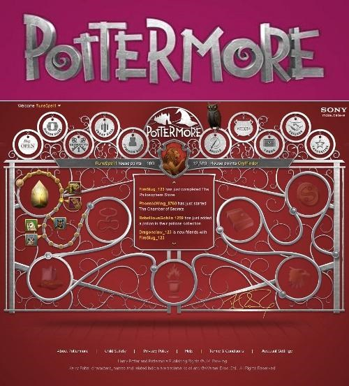 Explainer Harry Potter j-k-rowling Online Reading Experience pottermore - 4899014656