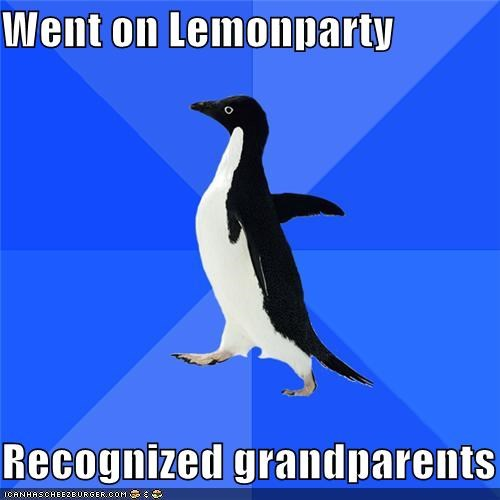 grandparents lemon party old people sigh socially awkward penguin - 4899084032