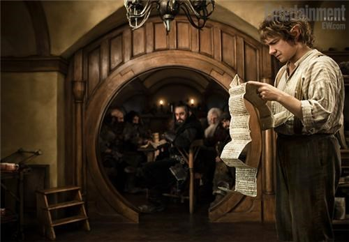 Bilbo Baggins gandalf ian mckellen Martin Freeman movies peter jackson The Hobbit The Shire - 4899149056