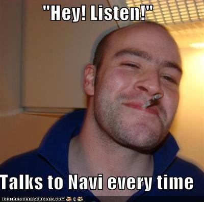 Good Guy Greg link listen n64 navi video games zelda - 4899443968