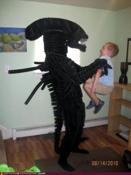 alien costume kid wtf - 4899508736