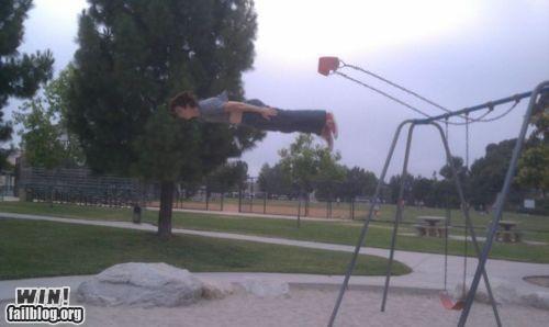Memes,Planking,swingset