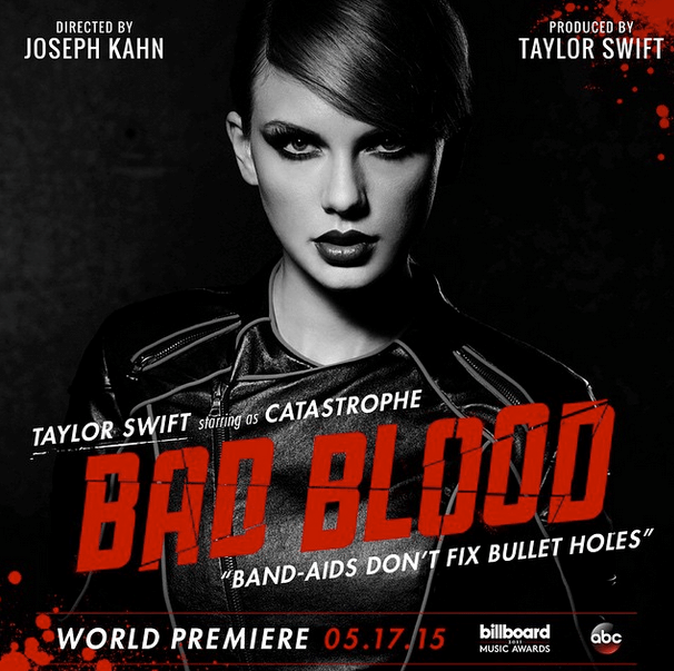 instagram taylor swift Music Video billboard music awards bad blood - 489989