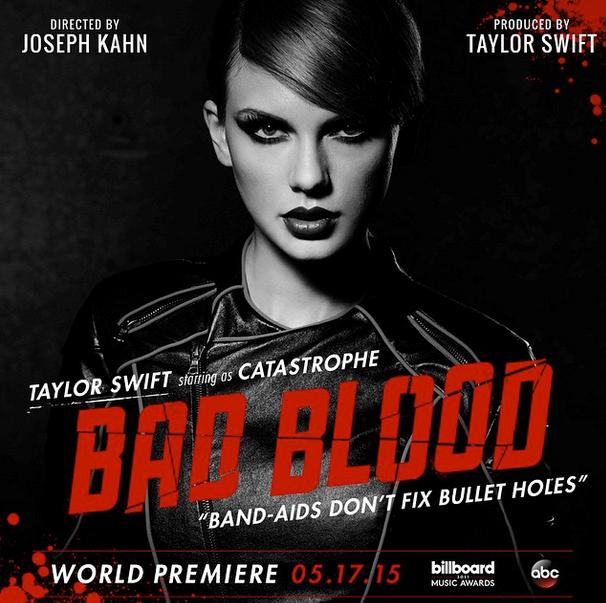 instagram taylor swift Music Video billboard music awards bad blood - 489989