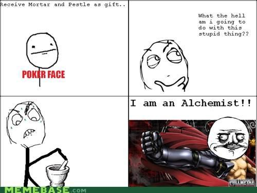 alchemist mortar and pestle presents Rage Comics - 4899895552