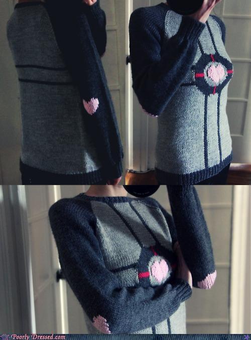 knit Knitted knitting Portal sweater - 4900054272