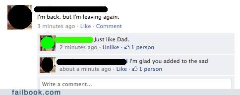 parenting deadbeat dad dad funny - 4900205056